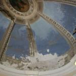 Hачало работ по реставрации купола храма