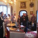 Панихида о упокоении души Великой княгини Александры Павловны в день 210-летия ее кончины