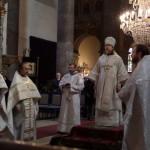 Архиерейское богослужение в кафедральном соборе Будапешта