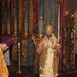 Митрополит Волоколамский Иларион совершил Божественную литургию в Успенском соборе в Будапеште