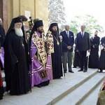 Торжества по случаю возвращения останков Великой княгини Александры Павловны Романовой на место их исторического упокоения