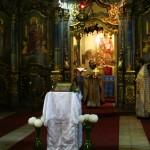 Божественная Литургия в Успенском соборе Будапешта