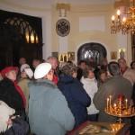 Посещение храма группой пенсионеров из области Пешт