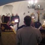 Освящение восстановленного памятного креста