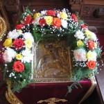 Икона св. Георгия Победоносца и св. царицы Александры