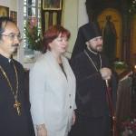 Супруга российского премьер-министра посетила Иремский храм