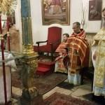 Божественная Литургия в Успенском кафедральном соборе Будапешта