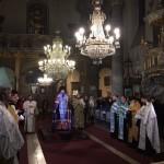 Первый архипастырский визит Преосвященного Тихона, епископа Подольского, в Венгрию начался с благодарственного молебна