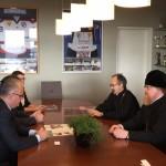 Встреча епископа Тихона с генеральным директором сети отелей Hunguest