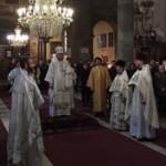 25 декабря Преосвященный Тихон, епископ Подольский, совершил литургию в Успенском кафедральном соборе Будапешта
