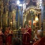 Преосвященный епископ Тихон возглавил богослужение и провел встречи в Будапеште
