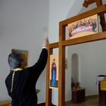 Освящение иконостаса в храме в Залаваре