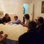 Подписание договора на приобретение земельного участка под храм в Хевизе