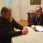 Епископ Тихон утвердил проект будущего православного храма в Хевизе