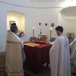Соборное богослужение в Токайском храме