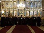 Преосвященный епископ Антоний возглавил соборное богослужение духовенства Венгерской епархии
