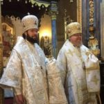 Преосвященный Антоний, епископ Будапештский и Венский совершил свое первое богослужение в кафедральном соборе Венгерской епархии
