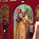 Божественная Литургия в Мишкольце