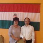 Встреча настоятеля Хевизского прихода с мэром города Залавар