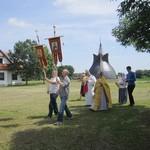 На земле святых Кирилла и Мефодия состоялось православное богослужение в их честь