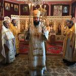 Архиепископ Антоний совершил Божественную Литургию в Свято-Сергиевском храме Будапешта