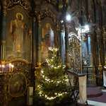 Литургия в Успенском кафедральном соборе Будапешта