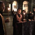 Великое повечерие с чтением канона святого Андрея Критского