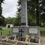 Память о павших на воинском мемориале в Кестхее