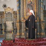 Митрополит Марк молился за вечерним богослужением в Успенском соборе Будапешта