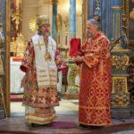 Литургия, встреча с вице-премьером Венгрии и другие события: продолжается пребывание митрополита Марка на Венгерской земле
