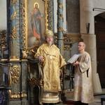 Архиерейская Литургия в Успенском соборе Будапешта