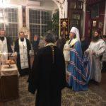 Митрополит Марк совершил Всенощное бдение в храме преподобного Сергия Радонежского в Будапеште