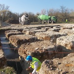Строительство Хевизского храма: 16-21 марта