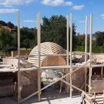 Строительство Хевизского храма: 18-23 мая