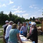 Строительство Хевизского храма: 25-30 мая