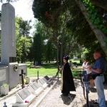 Панихида у воинского мемориала в городе Кестхей