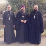 Духовенство в храме Вознесения Господня