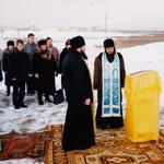 Молебен на месте обретения чудотворной иконы