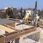 Строительство Хевизского храма: 15-20 февраля