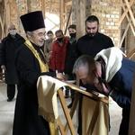 Чин присоединения к Православию в Хевизском приходе