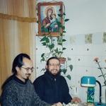 Пасхальная трапеза с отцом Евгением