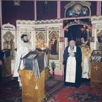 Владыка Даниил в храме преподобного Сергия Радонежского в Будапеште