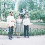 Семинарист из Японии в Санкт-Петербурге