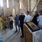 Богослужения в Хевизе в день святого благоверного князя Александра Невского