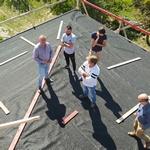 Строительство Хевизского храма: 20-25 сентября