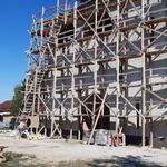 Строительство Хевизского храма: 27 сентября – 2 октября